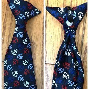 Anchor Nautical Baby Tie